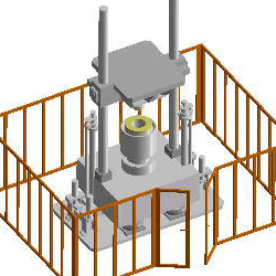 Safety Fence for Dorp Tester and Shock Tester